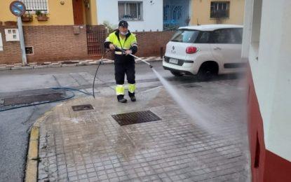Los trabajos de desinfección de Limpieza se han desarrollado en la zona de Santiago-Conchal-Castillo