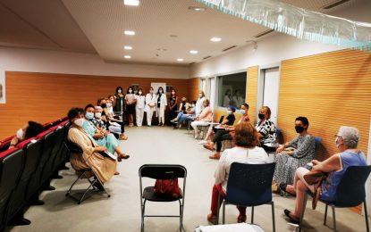 Las Áreas Sanitarias del Campo de Gibraltar retoman de forma presencial sus Escuelas de Pacientes con cáncer de mama
