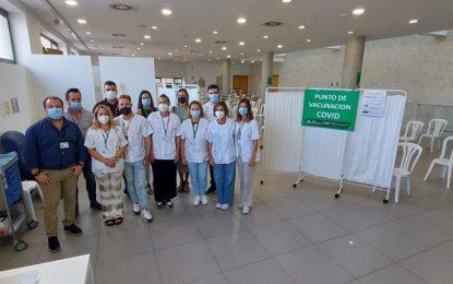 El Área Sanitaria Campo de Gibraltar Este (La Línea) administra más de 163.000 dosis desde el inicio de la vacunación contra el Covid-19