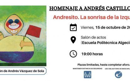 Un grupo de entidades organizan un acto de homenaje a Andrés Castillo