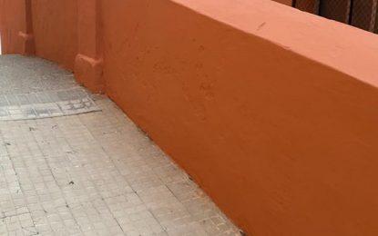 Mantenimiento Urbano acomete distintas reparaciones en barriadas y centros educativos