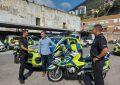 La RGP recibe la visita de un oficial de Policía Local de la comunidad Valenciana
