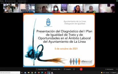 Presentado el diagnóstico del I Plan de Igualdad de Trato y de Oportunidades en el Ámbito Laboral del Ayuntamiento de La Línea
