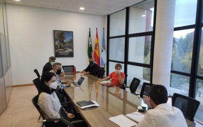 El alcalde aborda con la diputada provincial de Nuevas Tecnologías los avances en el proceso de implantación de la Administración Electrónica