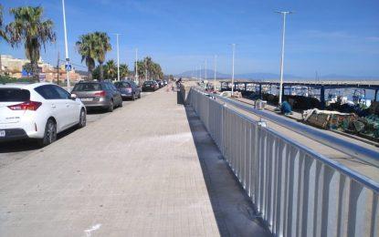 El varadero del puerto de La Atunara contará con un nuevo cerramiento